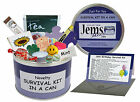 JEMSIDEAS Happy 18th Birthday Survival Kit In A Can. Novelty Gift Present & Card