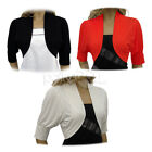 Stunning Bolero Shrug Cardi Top Size 10 to 20