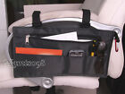 Wheelchair Scooter Armrest Bar Organizer Storage Wallet Bag Case/V'elcro Attach