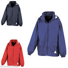 RESULT KIDS HOODED WINDCHEATER RAIN JACKET IN A BAG RS92B