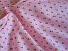 SALE Fat Quarter, Half Metre and Metre Pretty Pink Floral Fabric 100% cotton