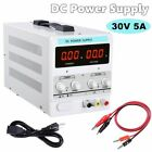 30V 5A/10A DC Power Supply Precision Variable Digital Adjustable Lab Grade 110V