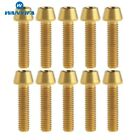 10Pcs Titanium Ti Bolt M5x20mm Tapered Hex Allen Head M5 Bicycle Bike Screw