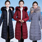 The new winter winter women's fur collar Cotton Hooded Coat Size thickened down
