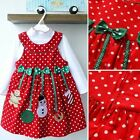 Kids Baby Girls Shirt Blouse+Dress Christmas Outfits Suits Children 2pcs 2-7Y