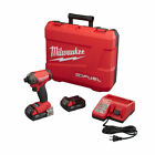 "Milwaukee M18 18V 2Ah FUEL SURGE 1/4"" Hex Hydraulic Driver Kit 2760-22CT new"