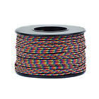 Micro Cord Braided Thin Paracord 1.18mm Jewelry Crafting Outdoor 125' Spool