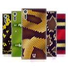 HEAD CASE DESIGNS SNAKE PATTERN HARD BACK CASE FOR SONY XPERIA XZ