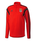 BENFICA 20515 - 2016 ADIDAS TRAINING TOP IN ADULT SIZES XS, S, L, XL & XXL