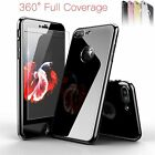 Ultra Slim 9H Tempered Glass Screen Protector Case for iPhone 6 6S 7 Plus Cover