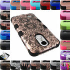 FOR NEW LG PHONE MODELS TUFF HARD CASE HYBRID IMPACT RUGGED RUBBER COVER+FILM