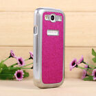 Bling Giltter Luxury Chrome Hard Case Cover For Samsung Galaxy S3 III i9300 Flim