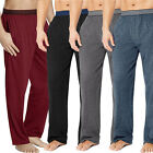 Hanes Men's X-Temp Tagless Knit Cotton Tall Lounge Sleep Pants With Fly Pockets
