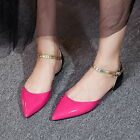 Sweet Womens New arrival Pointy toe Flats Ankle strap Date Stylish shoes party
