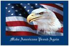 10 20 Patriotic USA FLAG AND EAGLE Senator Representative Postcards Post Cards