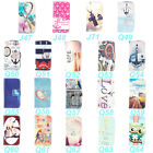 Art Design PU Leather Flip Wallet Card Stand Case Cover For Sony Xperia E1 4.0 ""