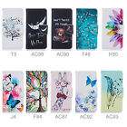 "For LG K8 / LG K350N (5.0"") Wallet PU Leather Case Cover Magnetic Card patterned"