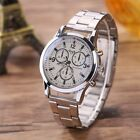 Sale Fashion Men Women Stainless Steel Business Cool Analog Quartz Wristwatch