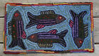 FISHING FOR COMPLIMENTS Primitive Rug Hooking KIT or PATTERN