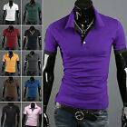 CHIC Hot Fashion Mens Slim Fit New T-shirt Tops Tee Casual Style Short Sleeve
