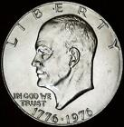 1976 P T1 BU EISENHOWER DOLLAR   ALL WHITE   BEST VALUE FROM CHERRYPICKERCOINS