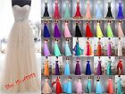2017 New Long Chiffon Evening Formal Party Ball Gown Prom Bridesmaid Dress 6~18