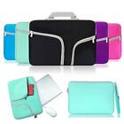 "For 13""-13.3"" Laptop Sleeve Bag Handle Zipper Tablet Computer MacBook Case Cover"