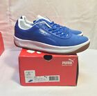 PUMA CV SPECIAL Basic S Blue Round Toe Leather Sneaker NIB Sizes 8 9.5 10 10.5