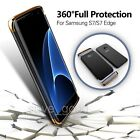 UK Shockproof 360° Protective Slim PC Case Cover For Samsung Galaxy S7/S7 Edge