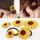 Summer Small Fresh Hairband Ornaments Sun Flower Hairpin Sunflower Hair Circle