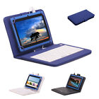 iRULU X1 7 inch Tablet 8GB Android 4.4 Quad Core 1.5 GHz WIFI Blue w/ Keyboards