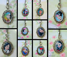 ALTERNATIVE DISNEY KEYRING OR CHARM BRACELET EMO PUNK KISS ELSA TINKERBELL ALICE