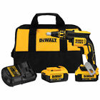 DEWALT 20V MAX XR Li-Ion Brushless Drywall Screwdriver DCF620M2 New
