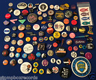 LOT of(60)vintage 1970's-80 Punk Rock/New Wave PROMO BUTTON PIN BADGE Stiff