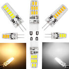 3W 5W 6W G4 G9 5733 SMD LED Lights Silicone Crystal Lamps Cool Warm White Bulbs