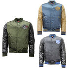 Puma Padded Baseball Bomber Popper Jacket Mens 561754 D