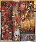 Wild Wings Amongst The Shadows Deer Coordinating Fabrics SOLD SEPARATELY bty