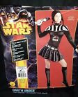 RUBIE'S 2013 STAR WARS DARTH VADER WOMEN BLACK ADULT COMPLETE COSTUME - XS, S, M