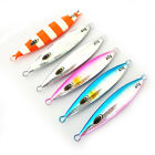 5PCS Fishing Deep sea glittery Metal Jigging Jigbait Spoon Lure 20g 30g 40g