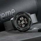 SKMEI Mens Military LED Digital Date Countdown Timer Sport Quartz Wrist Watch US image