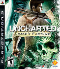 UNCHARTED: DRAKE'S FORTUNE (GH) PLAYSTATION 3 PS3 GAME DISC AND CARDBOARD CASE