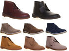 Justin Reece Donald Mens Leather Formal Office  Boots Size Desert Boot