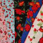 "Fat Quarters - 22"" X 20""  ***FLORAL & FRUIT*** Crafts, Quilting  £1.00 Each"