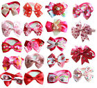 Valentine's Day Pet Dog Cat Bowties Mix 16Styles Ties Adjustable Bow Tie