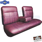 1963 Cadillac DeVille Front & Rear Seat Covers Upholstery Coupe PUI New