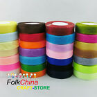 1 x 50 Yard Roll of 10mm Sheer Organza Ribbon (46 Metres) Wedding Sewing Craft