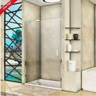 Frameless Pivot Walk in Shower Door Enclosure Glass Screen Cubicle Fixed Panel