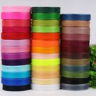 "1 x 50 Yard Roll of 25mm 1"" Sheer Organza Ribbon 46 Metres Wedding Sewing Craft"