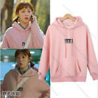 Korean Weightlifting Fairy SUNG KYUNG Cap Hoodie Sweater Women Pink Sweatershirt