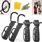 2/4/6/8 X Bike Bicycle Wall Mount Hook Rack Mounted Holder Hanger Stand Storage